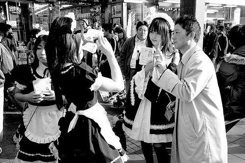 Francuske sobarice u Akihabari